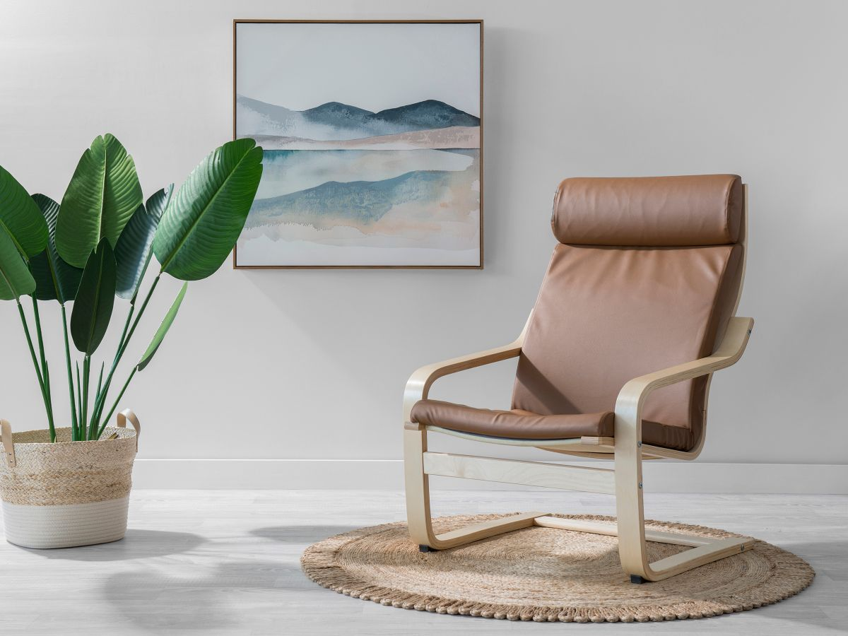 Asta Luxe Chair - Tan