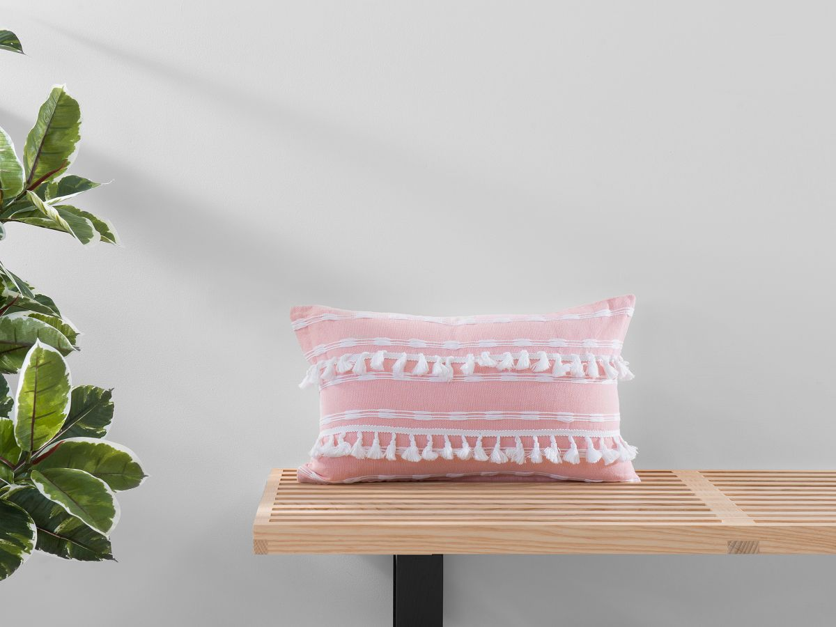 Bria Cushion Cover - Oblong - Pink