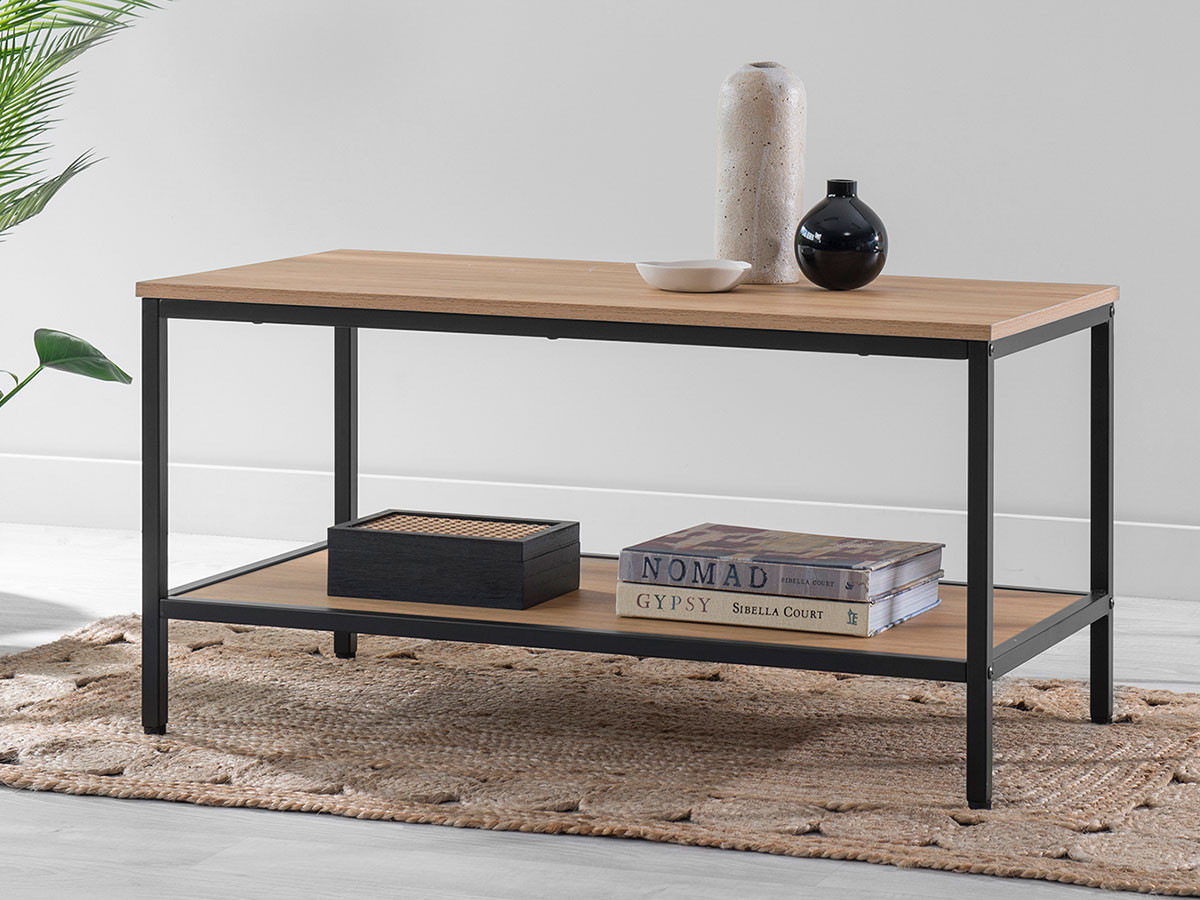 Porto Coffee Table - Black