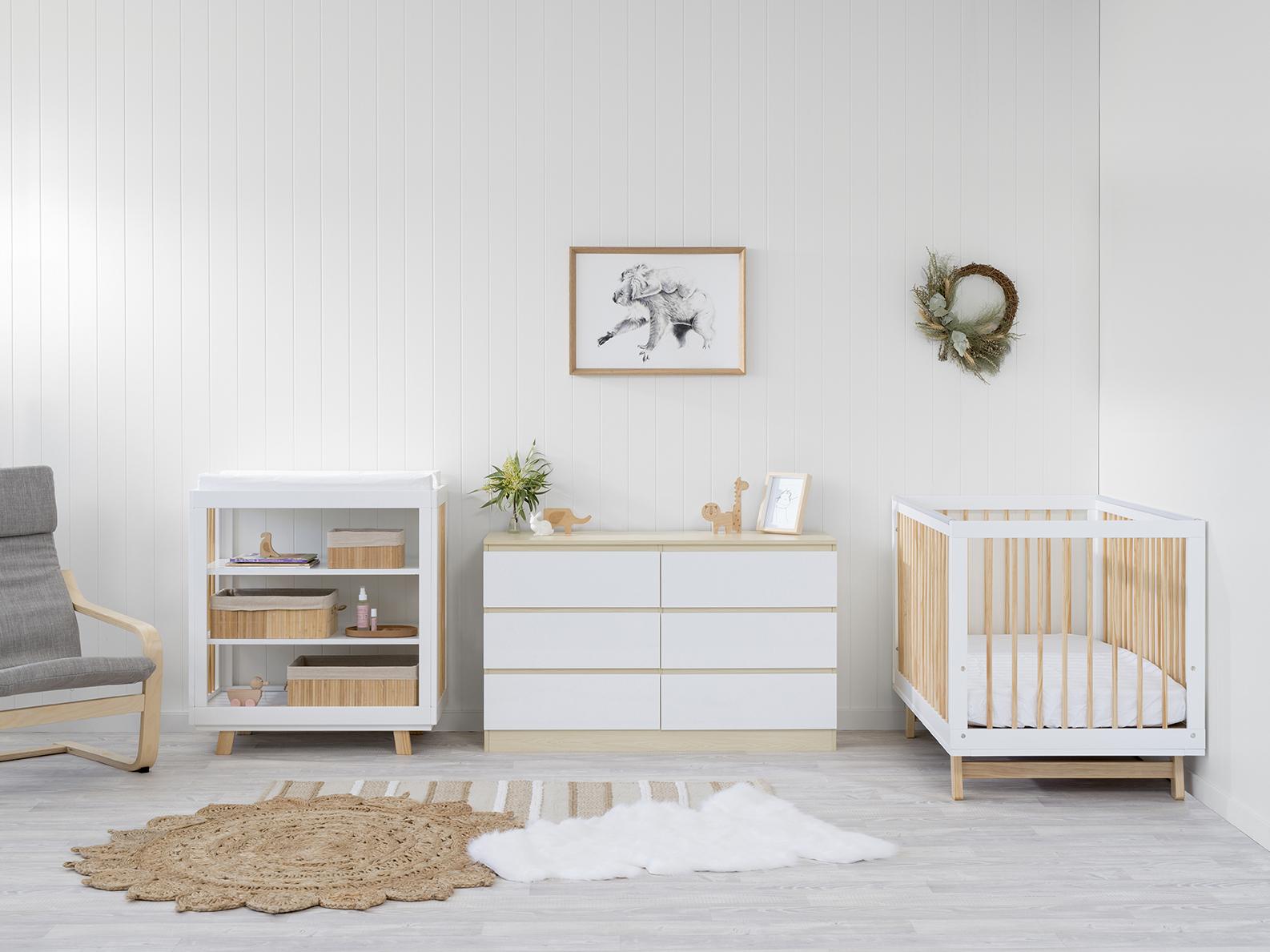 Aspen Upgrade Nursery Furniture Package