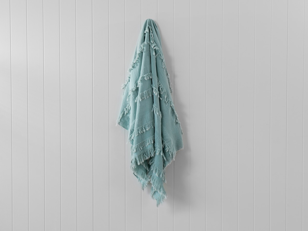 Isabella Throw - Sage Green