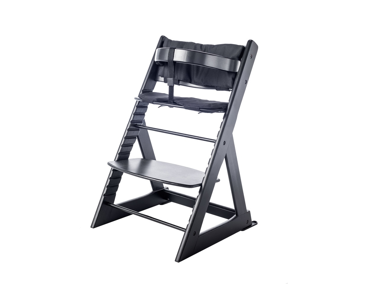 Soho Wooden Highchair - Black