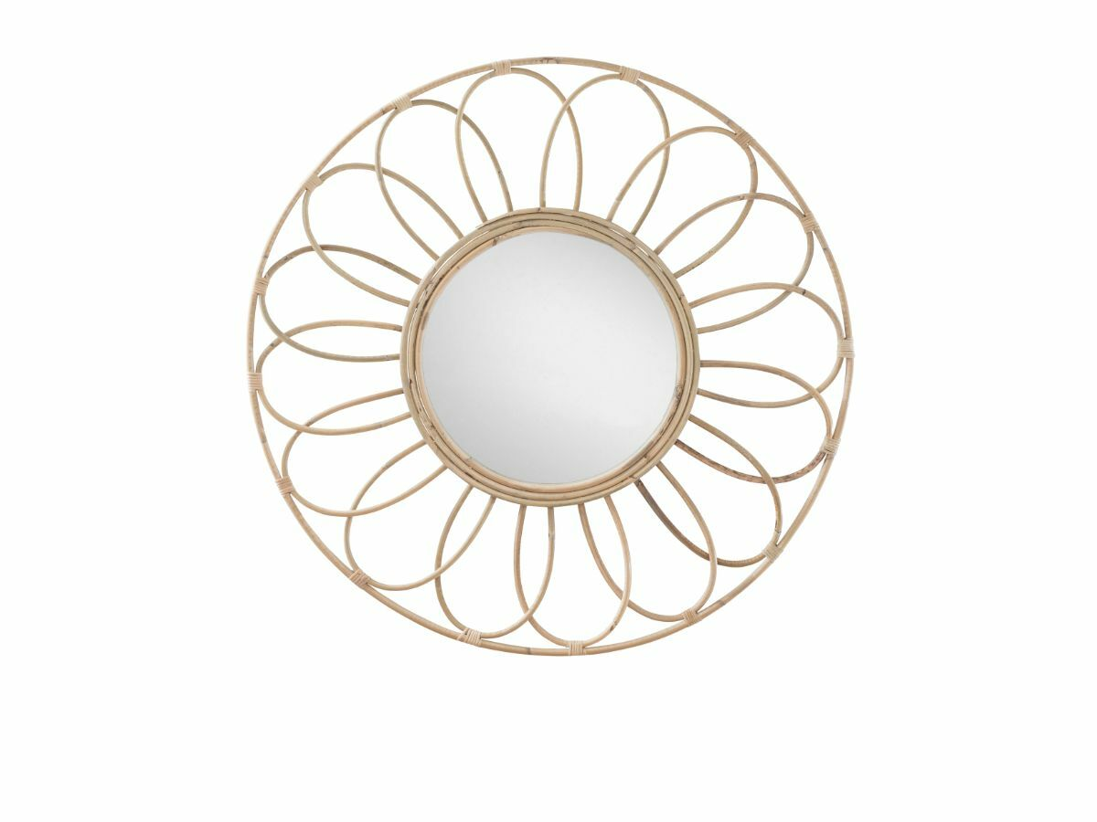 Bindi Rattan Mirror - Large