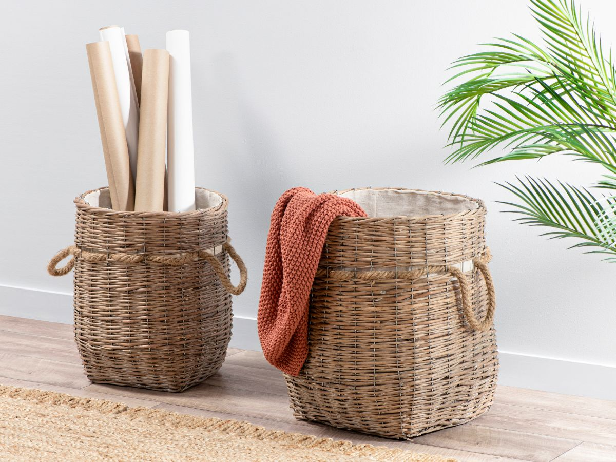 Mano Willow Baskets - Set of 2