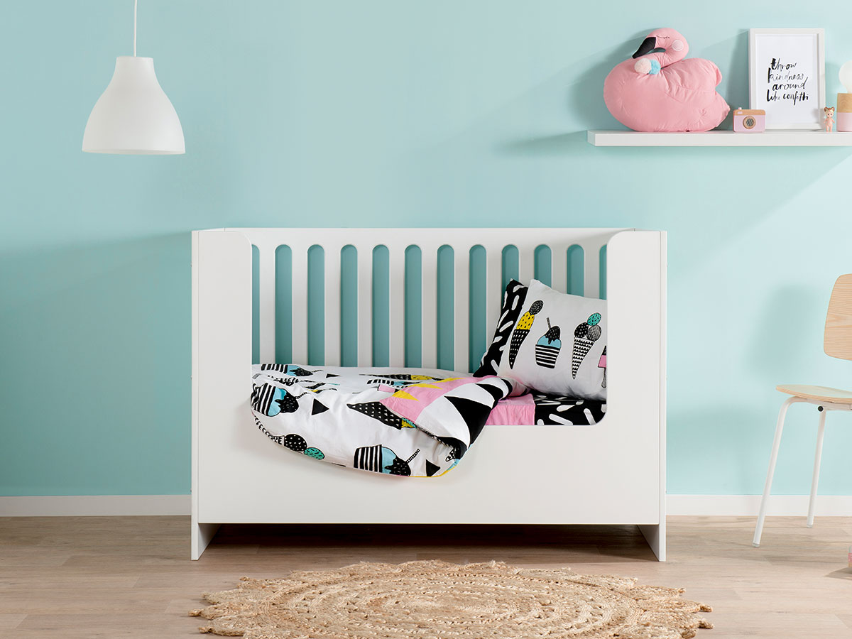 Amalfi Cot Toddler Bed Conversion