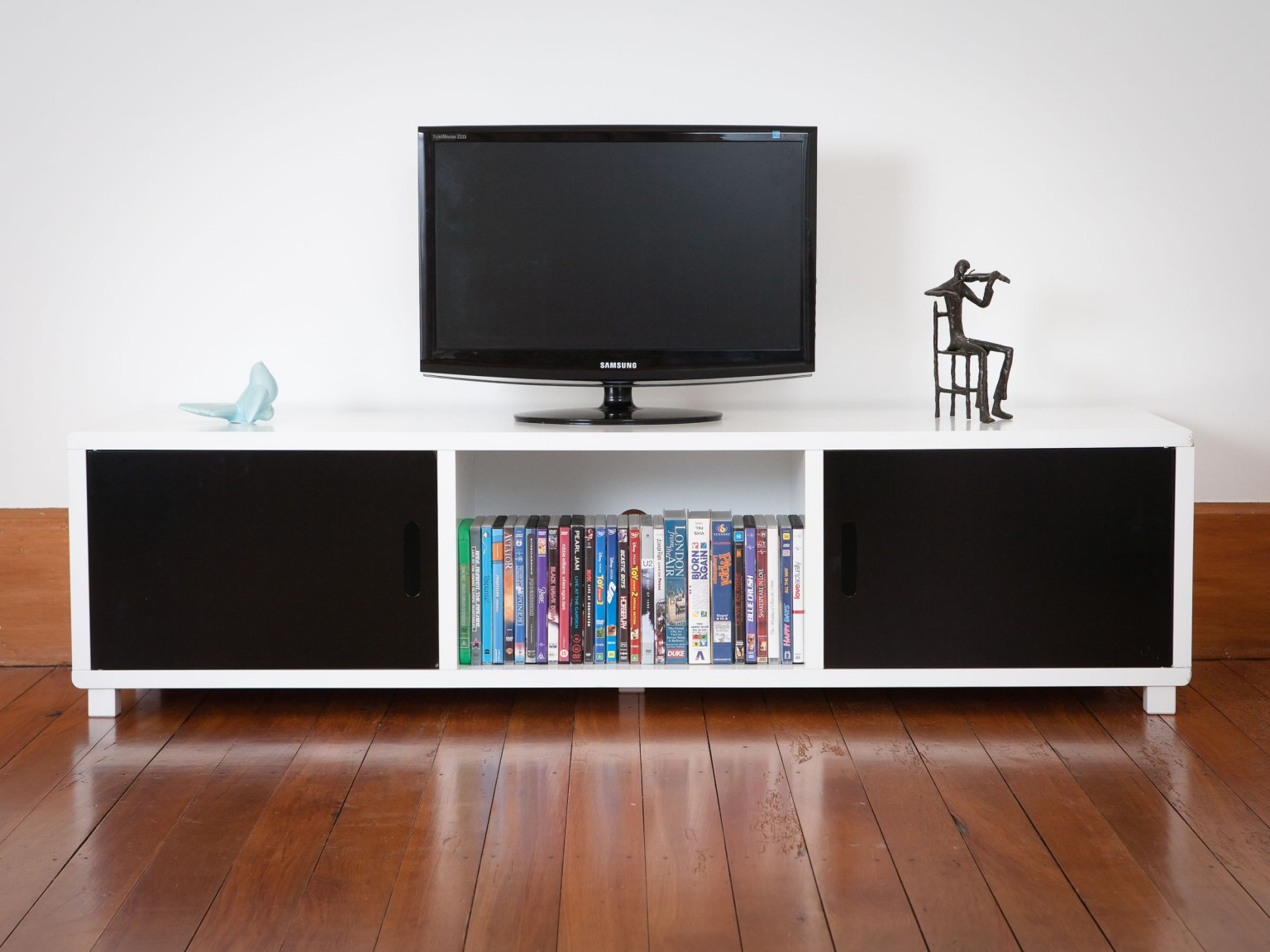 Mocka Essentials Entertainment Unit - Black