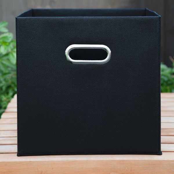 Fabric Boxes - Black