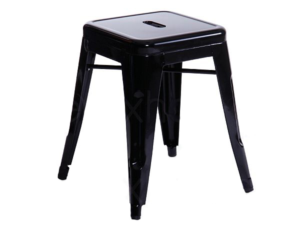 Industrial Stool - Small - Black