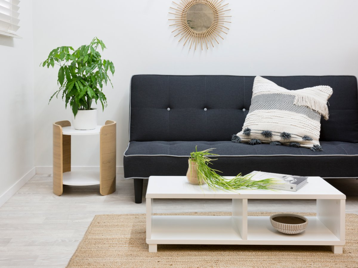 Mocka Essentials Coffee Table - White