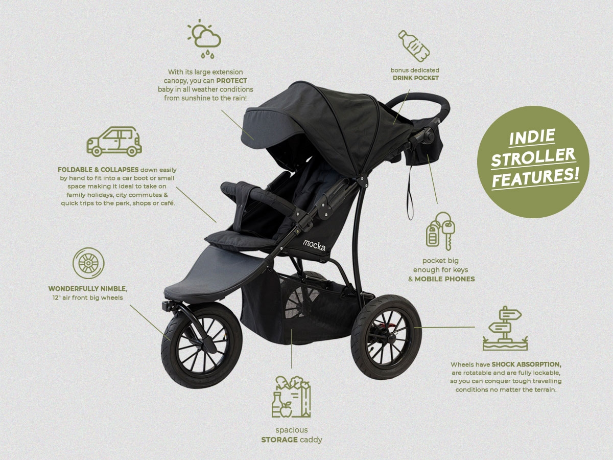 Indie Stroller Features