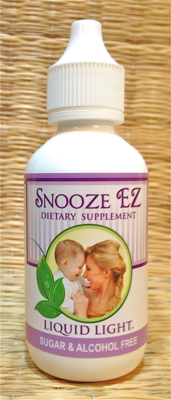 Snooze EZ- Contains herbs for sleep