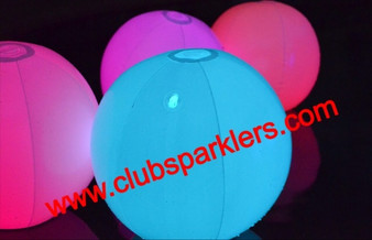 led beach ball glow beach ball concerts raves parties party