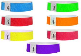 tyvek wristbands, plastic wristband, night club, concerts, rave, events, special events, lounges, bars, security, control