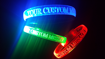 optical engraved bands