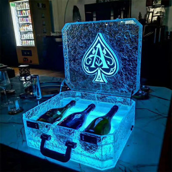 Led ACE Champagne Presentation Case