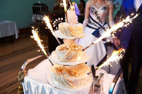 WEDDING CAKE CANDLE SPARKLERS| CAKE SPARKLERS CANDLE | CAKE SPARKLER
