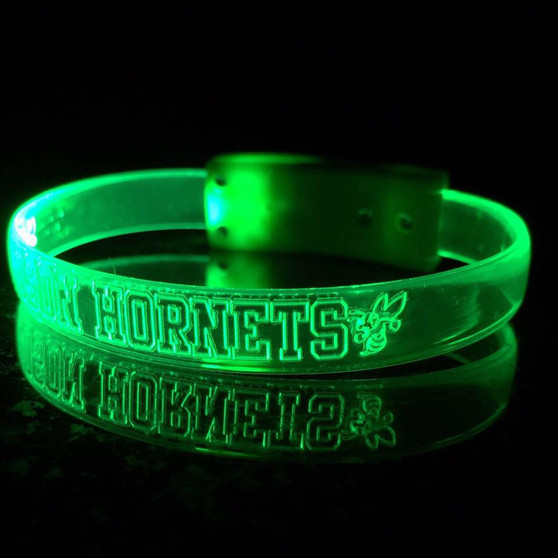 LED CUSTOM  WRISTBANDS  ENGRAVED