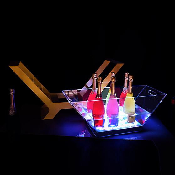 LED ICE BUCKET CHAMPAGNE EXA