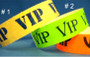 TYVEK WRISTBANDS VIP WITH SECURITY