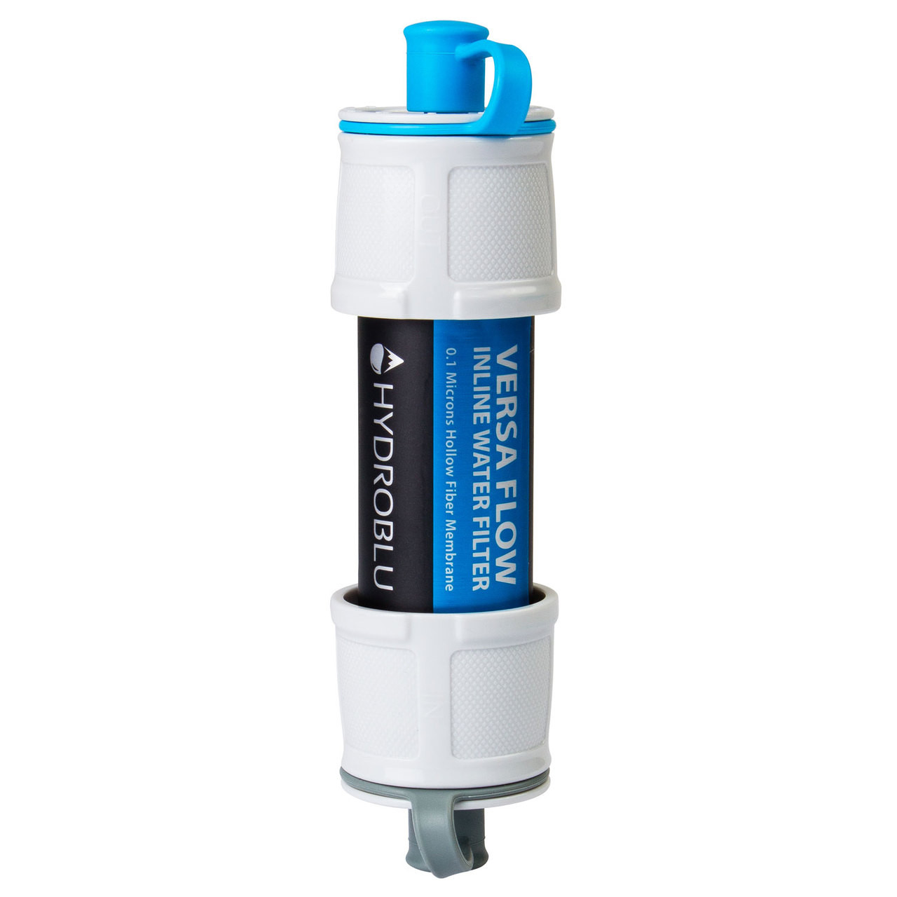 Hollow Fiber Inline or Straw Filter for Survivor and Emergency Filtration by HydroBlu Versa Flow Light-Weight Water Filter System
