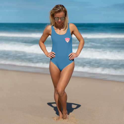 This one-piece swimsuit for all figures will bring out your best features. Enjoy the smooth fabric and the flattering design, and show it off by the sea or pool! • 82% Polyester, 18% Spandex • Chlorine-resistant fabric • Cheeky fit with a scoop neckline and a low scoop back • Zig-zag stitching  Size guide   XSSMLXL2XL3XL Chest (inches)33 ⅛34 ⅝36 ¼37 ¾4144 ⅛47 ¼ Waist (inches)25 ¼26 ¾28 ⅜29 ⅞33 ⅛36 ¼39 ⅜ Hips (inches)35 ⅜3738 ⅝40 ⅛43 ¼46 ½49 ⅝
