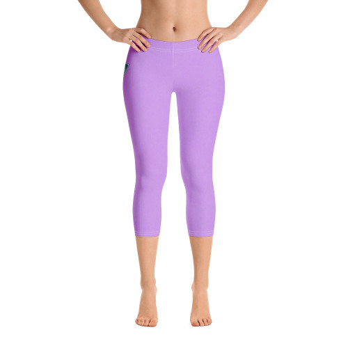 Super soft and comfortable capri leggings. • 82% polyester/18% spandex • Material has a four-way stretch, which means fabric stretches and recovers on the cross and lengthwise grains • Made with a smooth, comfortable microfiber yarn • Precision-cut and hand-sewn after printing  Size guide   	XS	S	M	L	XL Waist (inches)	25 ¼	26 ¾	28 ⅜	31 ½	34 ⅝ Hips (inches)	35 ⅜	37	38 ⅝	41 ¾	44 ⅞