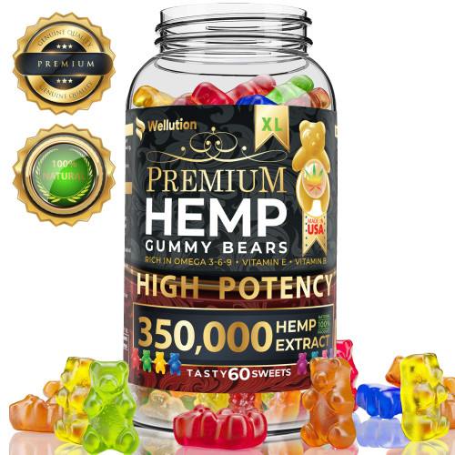 Brand: WELLUTION  Color: Multicolor  Features:  ✅ FUN & DELICIOUS ALTERNATIVE - You surely won't forget taking one of these daily! Ditch your bitter hemp tablets and pills for these yummy edibles. It tastes great and smells oh so good! ✅ NUTRENT-RICH TREAT - Nothing beats the health benefits of pure and organic supplements. Our natural hemp gummies are loaded with Vitamins E and B as well as Omega 3, 6 and 9 fatty acids. ✅ STIMULATES BRAIN FUNCTION - Enhance your productivity with more focus and better memory. Hemp oil has the natural ability to help your brain work more efficiently and improve your attention to details. ✅ RELIEF FOR DISCOMFORTS - What a tasty way to relieve headaches, muscle spasms, nausea and inflammation! Each chewy piece is formulated to re-energize you while numbing any ache or uneasiness you may feel. ✅ FEEL CALM & GREAT - Feeling down and blue? Instead of resorting to ice cream or wine, take one gummy hemp candy. It helps to relax and calm, and promotes positive feelings and emotions.  Publisher: WELLUTION  Details: Do you dread taking bitter pill or capsule supplements? There is no fun in swallowing supplements, especially when they remind you so much of medicine. Even as adults, we all want something that is sweet and easy to consume. Unfortunately, some skip taking their pills just to avoid the unpleasant smell and taste. It is easier, yes, but your mind and body miss out on the benefits they could offer. Enjoy yummy-as-candy supplements with Hawaiian Health Natural Hemp Gummies! Gummy has been in existence since the 1960s. Although it isn't necessarily a new product, it sure is one candy that has maintained its status as a favorite among kids and adults alike. Since gummy is an all-time fave, we decided to make our supplements look, smell and taste like it! We infused hemp oil and gummy candy to create nutritional and therapeutic chews adults who are young at heart will love! Concentrated oil is not something everyone is fond of, so our yummy edibles are your next best choice. Hemp gummies are rich in essential vitamins and fatty acids that aid in enhancing your mind and body functions. They help remove stress, relieve pain and ease discomfort. Gummies with hemp can also make you better at focusing on your tasks and remembering important things. Imagine how much you benefit just by chewing one sweet gummy a day! Other noteworthy reasons to take Hawaiian Health Natural Hemp Gummies: