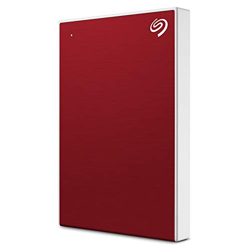 Perfect for storing large amounts of informationBrand: Seagate  Color: Red  Features:  Store and access 2TB of photos and files on the go with Seagate Backup Plus Slim, an external hard drive for Mac and Windows This portable external hard drive features a minimalist brushed metal enclosure, and is a stylish USB drive Simply plug this external hard drive for Mac and Windows into a computer via the included USB 3.0 cable to back up files with a single click or schedule automatic daily, weekly, or monthly backups; Reformatting may be required for use with Time Machine Edit, manage, and share photos with a 1 year complimentary subscription to Mylio Create and a 2 month membership to Adobe Creative Cloud Photography Plan Enjoy long term peace of mind with the included 2 year limited warranty  Platform: PC  Publisher: SEAGATE  Release Date: 08-04-2019  Details: Store and access 2TB of photos and files on the go with Seagate Backup Plus Slim. The perfect compliment to personal aesthetic, this compact portable external hard drive features a minimalist brushed metal enclosure and quick plug-and-play connectivity with the included USB 3.0 cable. Giving files extra protection is practically effortless—simply back up with a single click or schedule automatic daily, weekly, or monthly backups. Plus—edit, manage, and share photos with a one-year complimentary subscription to Mylio Create and a two-month membership to Adobe Creative Cloud Photography Plan