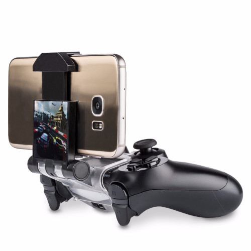 Brand Name:ikebidume Compatible Brand/Model: None Model Number: bar000082 Color: Black Name: Mobile Phone Clamp for Ps4 Controller  Hot Sale Cell Mobile Phone Smart Clip Clamp Holder Gamepad Plastic Stand for PS4 Game Controller Only for Android High Quality     You May Like: Hot!!! Click on the following products, you can see the discounted price!!!     Please read before you buy: 1.Seller's shipping method will give invalid number,which can only be tracked in China, but not in your country.It's free shipping. If you need an international tracking number, please pay extra fee to choose China Post Air Mail or other express carrier. 2.We promise on-time delivery in 60 days, usually it takes 15 - 50 days to reach you. We don't accept dispute about not receiving goods during our promised time. Your enough patience is highly appreciated.  3.We suggest you read description carefully and make your order directly, we will ship out with 3-5 days usually. If you're our old customer and want to make big order, we will certainly give you extra discount.   Description:   Support of various smartphones.   You can adjust the length of the clip   Ergonomic design, using comfortably   Adjust length up to max. 88 mm   It is an exclusive clip using the DUAL-SHOCK 4 controller, it is very comfortable to enjoy the joy of games of smartphones   Install or uninstall the clip, please do not use excessive force   When the clip be installed well. Please do not rock it excessively   Third party product, not made by For Sony   Package Included:   1 x Mobile Phone Clamp for Ps4 Controller (Clamp Holder ONLY. Phone and Controller not included) Note:We don't offer retail package,but we will pack it well before shipped out.   Picture Show: