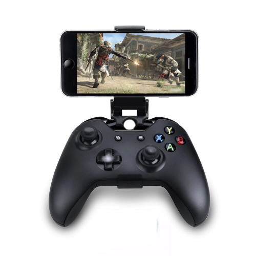 Brand Name: TECTINTER Compatible Brand/Model: Microsoft MicroSoft Model: Xbox One Model Number: Xbox One Slim Fits: For Ios /Android Phone Package: No Type: Stand For Xbox one Slim controller Drop Shipping: Support Model Number: Stand For xbox one S Condition: Brand new Style: For Xbox One S Stand Wholesale: Support     Mobile Cell Phone Stand For Xbox One S/Slim Controller Mount HandGrip For Microsoft Xbox One Gamepad For Samsung S9 S8 Clip Holder  Universal Smart Game Clip with adjustable viewing angle attach for Android phones, such as Samsung Galaxy /LG /HTC /Sony Xperia.etc. It allow you to use Game controller to play your games on your smartphone. Strong and secure, it is flexible enough to easily snap onto your controller, but strong enough to provide a solid mounting platform for your phone. You can adjust the length of the clip(Up to 88mm) Ergonomic design ,using comfortably  Package include:     1 x Phone Mount Clip holder for Xbox one S Gamepad controller (Not included the Controller)
