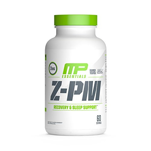 Brand: Muscle Pharm  Features:  PROMOTES DEEP SLEEP & RECOVERY: MusclePharm Z-PM is a natural sleep-support supplement that promotes deep sleep, which allows your muscles and body to recover after workouts and athletic activity. SUPPORTS NATURAL TESTOSTERONE: This safe nighttime recovery supplement includes a healthy dose of fenugreek, which supports natural testosterone levels and improves muscle strength. SUPPORTS HEALTHY LIBIDO FUNCTIONING: The cutting-edge anabolic mineral support formula infused in Z-PM promotes deeper, more beneficial sleep to maximize tissue repair, hormone production, and testosterone levels. BANNED-SUBSTANCE TESTED: We care about the products you put into your body. MusclePharm Z-PM Natural Sleep-Support Supplement is banned-substance tested and certified by Informed-Choice. 100% MONEY-BACK GUARANTEE: All MusclePharm products are backed by a 30-day full money-back guarantee. Cutting-edge anabolic mineral support formula^Helps deliver the best sleep possible^Increases testosterone levels^Helps your body heal from intense workouts^Promotes deeper, more efficient sleep to maximize tissue repair, hormone production and testosterone levels  Publisher: Muscle Pharm  Release Date: 04-07-2013  Details: Whether you're a serious athlete or a workout enthusiast, recovering from an intense workout is easier with a good-night's sleep. MusclePharm Z-Core PM is a sleep-aid recovery supplement designed for athletes looking to maintain their training regimen by achieving a good night's sleep. Deep and restful sleep is a critical part of proper muscle recovery and is essential for ensuring optimal performance in workouts and other physical activity. Each serving of MusclePharm Z-Core PM includes 3 mg of melatonin as well as fenugreek to support natural testosterone levels and muscle strength. MusclePharm Z-PM Essentials promotes deeper and more beneficial sleep to boost healing, tissue repair, anabolic hormone production, testosterone levels, and muscle grow