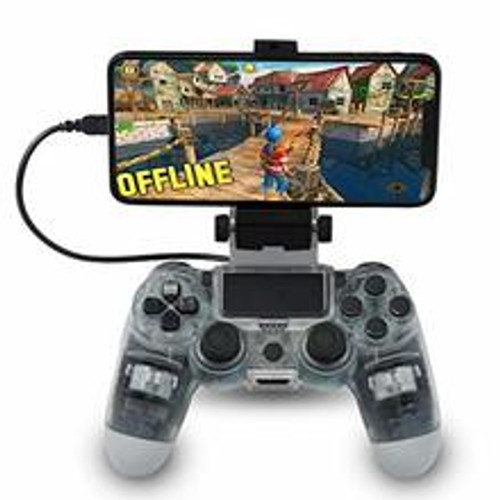 Brand: CHASDI  Features:  Fits: Dualshock 4 and CHASDI PS4 gamepads controllers conveniently Easy to attach to your smartphone with no tools or modification necessary. Over 120 Degree viewing angles. Does not interfere with the ergonomics of the controller. Smartphone clip spring to securely attach your IOS or Android device CHASDI 6 Month included Warranty  Publisher: CHASDI  Details: 100% brand new and high quality perfectly fit original Xbox One wireless controller, and new Xbox One S controller also fits SteelSeries Nimbus wireless gaming controller easy to attach to smartphone and controller, no tools or modifications needed customizable viewing angle does not interfere with the ergonomics of the Xbox controller any button, port or feature on the controller are completely accessible while the smart clip is attached We recommend one cast (sold separately) to stream and play in any IOS or Android Device