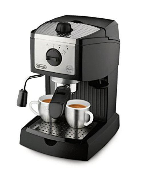 Espresso and Cappuccino Maker, Black