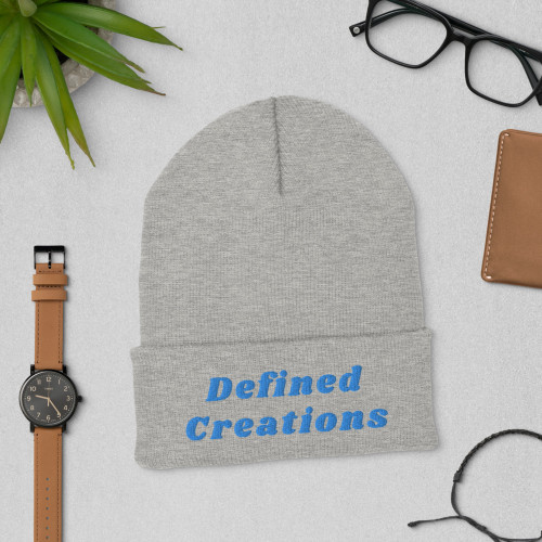 "A snug, form-fitting beanie. It's not only a great head-warming piece but a staple accessory in anyone's wardrobe. 100% Turbo Acrylic 12"" in length Hypoallergenic  Unisex style"