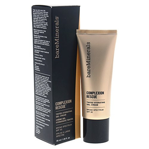bareMinerals Complexion Rescue Tinted Hydrating Gel Cream SPF 30, Ginger 06, 1.18 Ounce