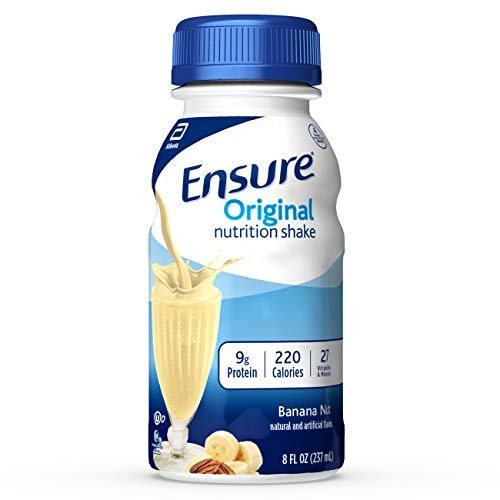 Ensure Original Nutrition Shake with 9g of Protein, Meal Replacement Shakes, 8 Fl Oz, 24Count