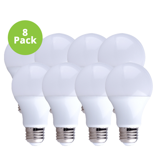 FREE 8-Pack Dimmable LED, 9W (60W eqv), 2700K