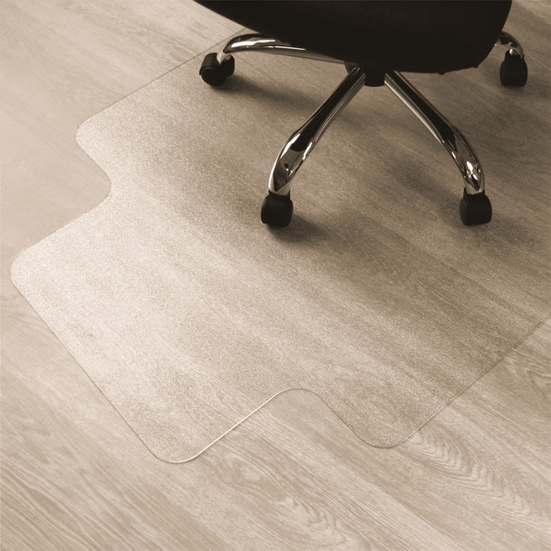 Enhanced Polymer chairmat for hardwood floors