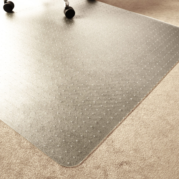 Enhanced polymer carpet chairmat carpet protector rug