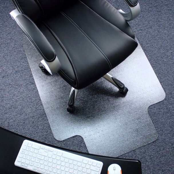 Polycarbonate durable unbreakable  carpet protection chair pad