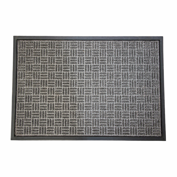 Heavy duty indoor outdoor doormat for home and commercial use