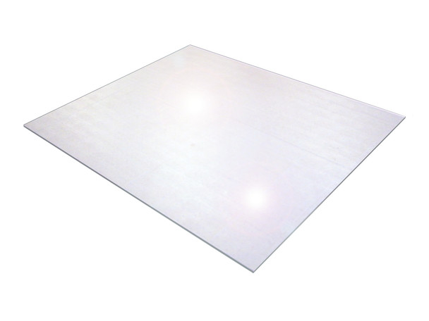 Cleartex XXL Polycarbonate Chair Mat for Hard Floors