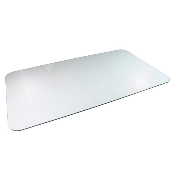 Cleartex Glaciermat Reinforced Glass Chair Mat for Hard Floors and All Pile Carpets