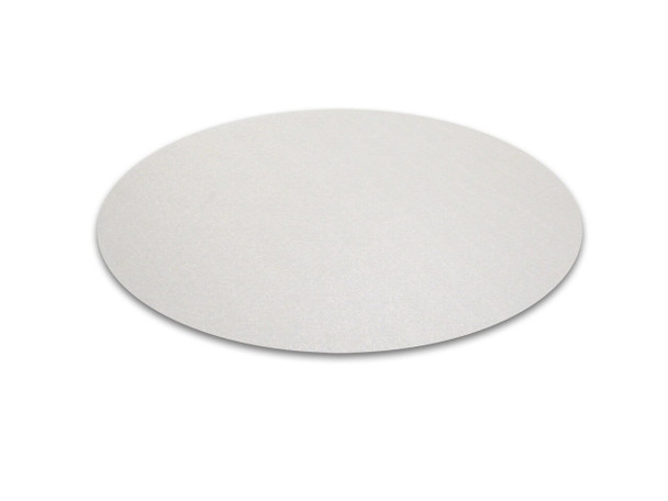 Hometex Biosafe Anti-Microbial PVC Round Table Protector Mats - Pack of 2