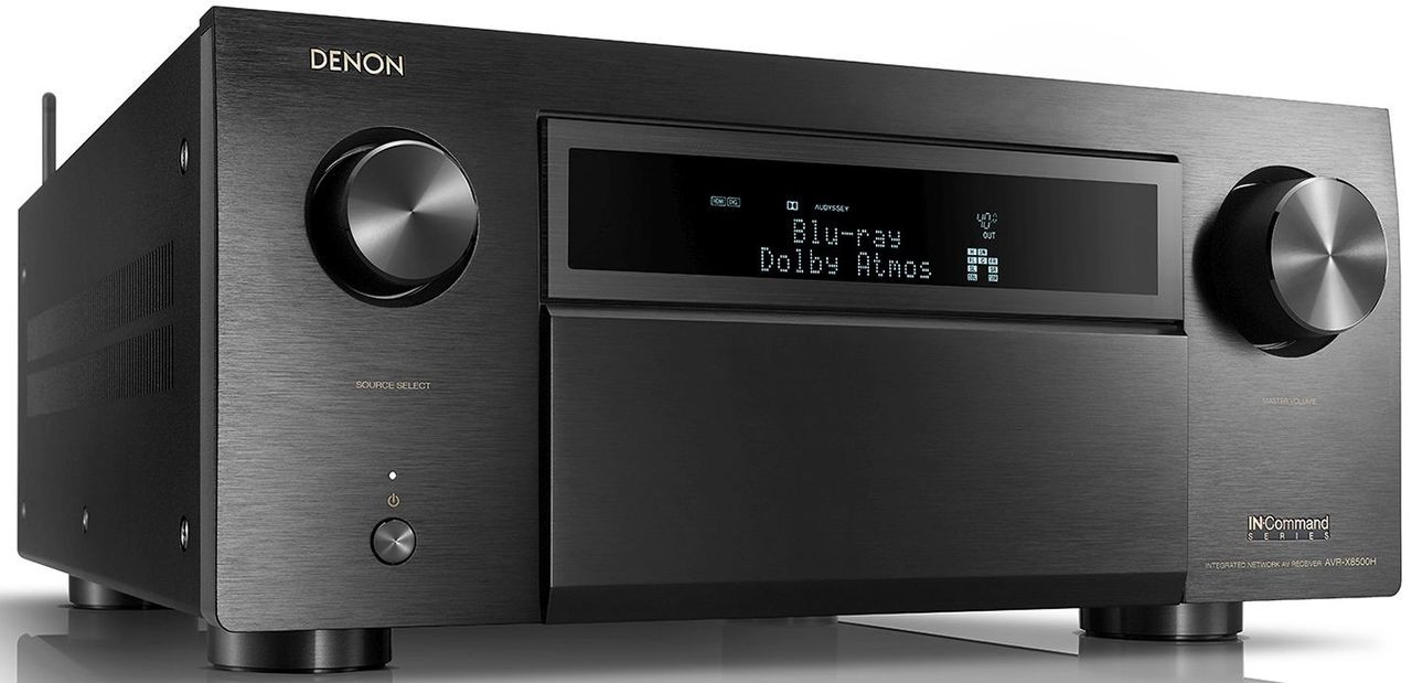 Denon® AVR-X8500H 13.2 Channel Home Theater Receiver