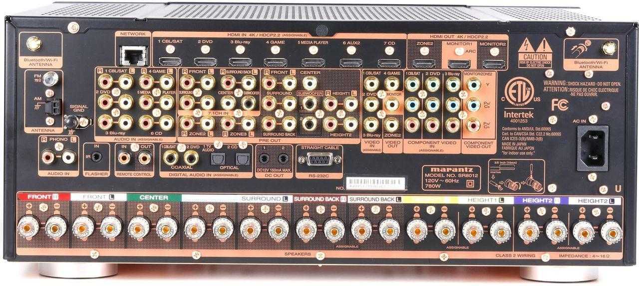 Marantz® SR8012 11.2 Channel Network AV Receiver