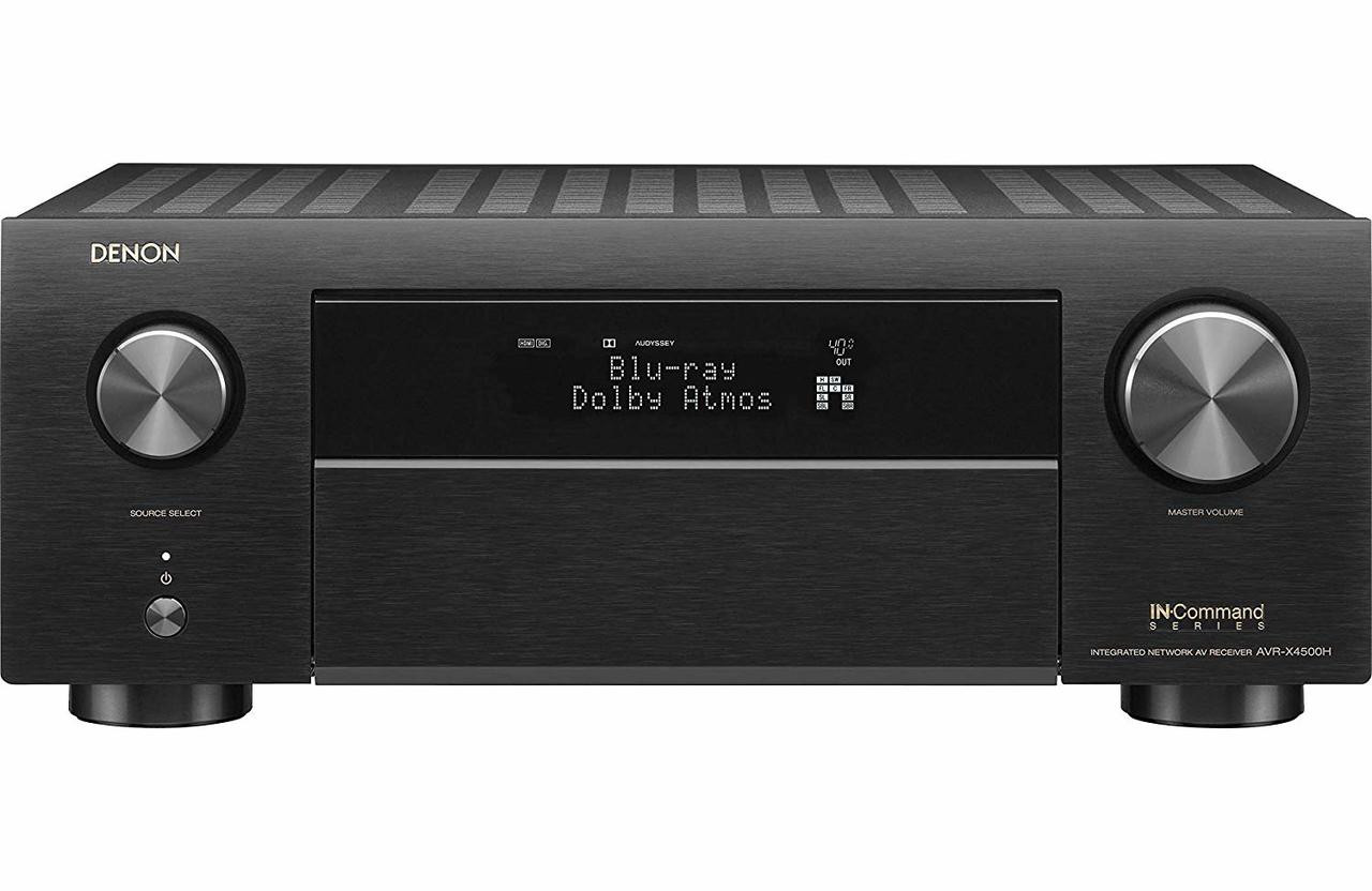 Denon® AVR-X4500H 9.2 Channel 4K A/V Receiver