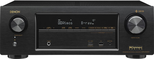 Denon AVR-X1400H 7.2 Channel AV Surround Receiver-Black