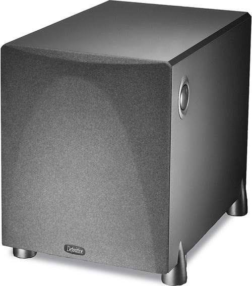 Definitive Technology PROSUB 800BLK High Output Compact Powered Subwoofer