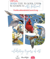The Woodlands Waterway Arts Festival goes VIRTUAL on Saturday Oct 17